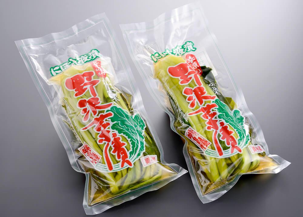 野沢菜漬けの商品画像